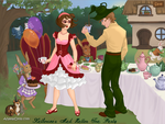 Katherine's Mad Hatter Tea Party by misstudorwoman