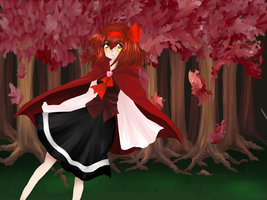 Carmine Forest by watermelon-clock