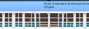 28 Foot Long 1570 Gallon Fish Tank by OceanRailroader