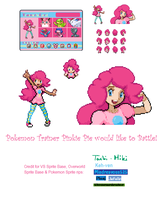 Trainer Pinkie Pie by 0RCV0