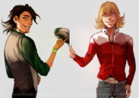 Tiger and Bunny (repaint) by lacrimode