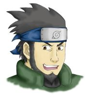 Asuma Sarutobi by vellandrew666