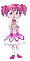 Madoka Kaname by timelordponygirl