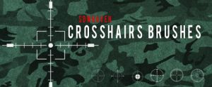Photoshop Crosshairs Brushes by sdwhaven