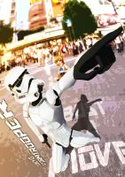 Tokyo Stormtrooper by Exiled-Artist