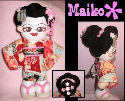 Maiko Girl by Squisherific