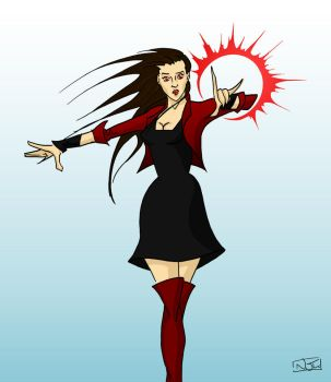 Scarlet Witch by TheWatcherOnTheWall