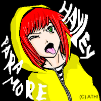 Hayley Williams from Paramore by Athh