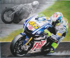Valentino Rossi by thunder2165