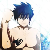 Fairy Tail Gray Fullbuster by Mr123GOKU123
