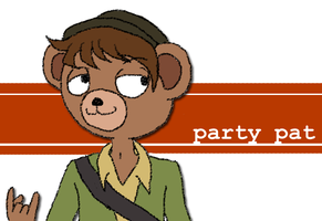 PAR-TAY Pat by over-the-top
