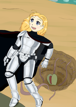 Phasma(unmasked version) by sdowning