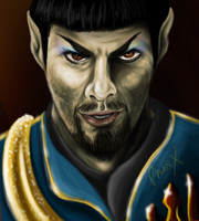 Mirror NuSpock by Phoenix-Cry
