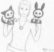 Hidan a skelanimal fan by sapphiremoonninja
