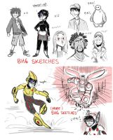 BH6 Sketches by animegirl43