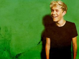 Niall  Horan  Green  Wallpaper by JoDirectioner