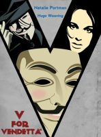 V for Vendetta - Movie Poster by joaood