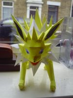 Jolteon - Front by SpottyBulboid