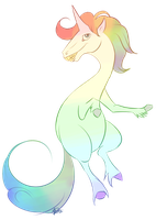 Rainbow Pooper by Rodent-blood
