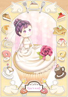 Cupcake bride by BumbleBeesh
