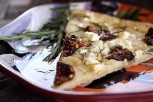 Honey Fig Goat Cheese Pizza 8 by laurenjacob