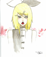 Meltdown Water Color by TheMadHattersMistres