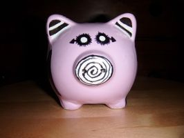 The Pig-NNY Bank :Front: by ParamourxLights