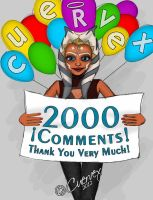 2000 comments Thanks! by Cuervex