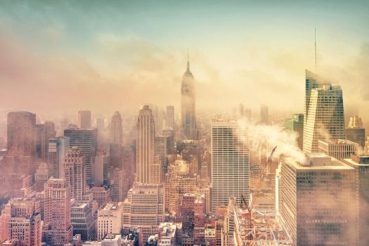 A cloudy morning in NY by Matthias-Haker