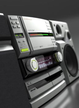 A Pioneer music player by Byteman3D