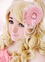 Hime Gyaru Inspired Hair Clip by WhippedCreamCake
