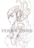 untitled lineart by ferus