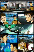 Star Trek: Sulu and Chekov Comic by student-yuuto