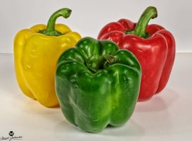Peppers Together by mjohanson