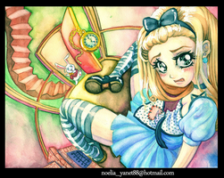 Alice in Wonderland by adrenalineyanet