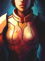 Commander Shepard by TheBoyofCheese