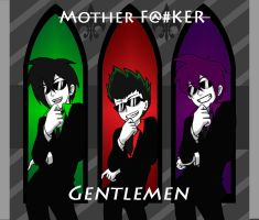 Gentlemen Secret Trio V.1 by crimsonluna101