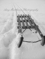 Updated - Snow Sledge by Amylnm