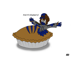 Silous found a pie... by SubduedMoon