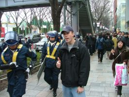 The Tokyo Riot Police and I by ColbyBFox