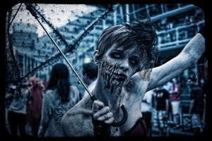 Vancouver Zombie Walk 2012 - 001 by BruceBachand