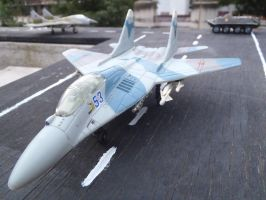 Jet fighter wing ready... by Krulos