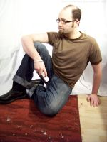 Wii Guy Sitting : 11 by taeliac-stock