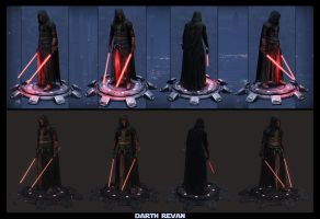 Darth Revan presentation by digitalinkrod