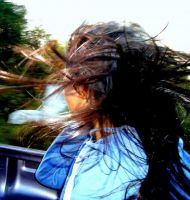 Wind in my hair... by PnJLover