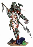 Spear Of Justice Masked by Ronniesolano