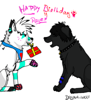 Happy B-Day by Dr3am-Wolf