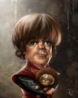 Tyrion Lannister by RichkalElena