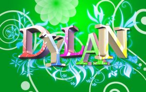 Dylan 3d floral by thraxxdv