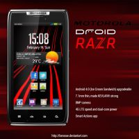 Motorola Droid RAZR Vector by BenSow